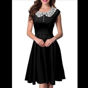 Dresses & Skirts - Vintage Retro Swing 50s Pinup Evening Party Dress
